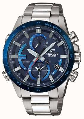 Casio Edifice Bluetooth Tough Solar Super Illuminator Blue EQB-900DB-2AER