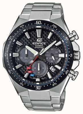 Casio Edifice Solar Sapphire Glass Carbon Effect Dial EFS-S520CDB-1AUEF