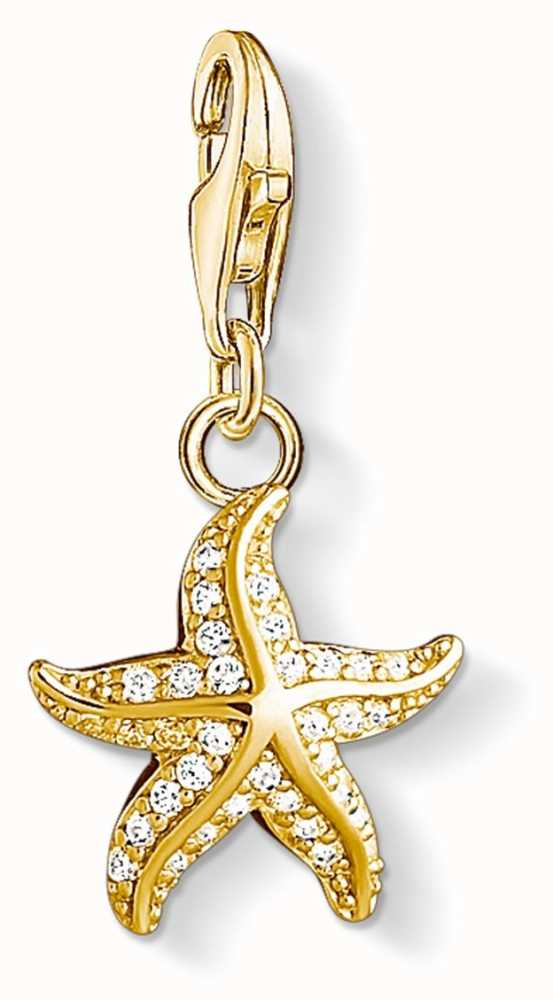 Thomas sabo starfish sterling silver gold plated charm 1520 414 14 thomas sabo jewellery 1520 414 14 aloadofball Gallery