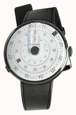 Klokers KLOK 01 Black Watch Head Black Satin Single Strap KLOK-01-D2+KLINK-01-MC1