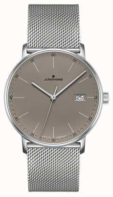 Junghans FORM Quartz Grey Dial Watch 041/4886.44