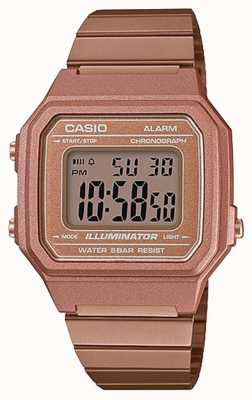 Casio Vintage Core Classic Digital Illuminator Rose Gold B650WC-5AEF