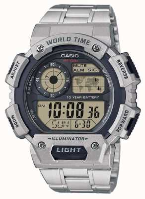 Casio World Time Alarm Chronograph AE-1400WHD-1AVEF