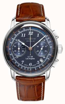 Zeppelin | LZ126 | Los Angeles | Blue Chronograph | 7614-3