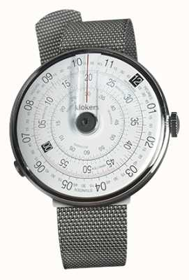 Klokers KLOK 01 Black Watch Head Steel Milano Strap KLOK-01-D2+KLINK-05-MC1