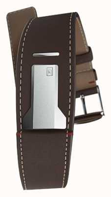 Klokers KLINK 01 Chocolate Brown Strap Only 22mm Wide 230mm Long KLINK-01-MC4