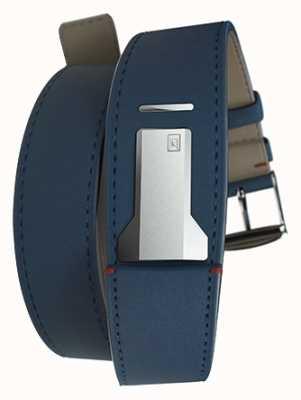 Klokers KLINK 02 Indigo Blue Double Strap Only 22mm Wide 420mm Long KLINK-02-420C3
