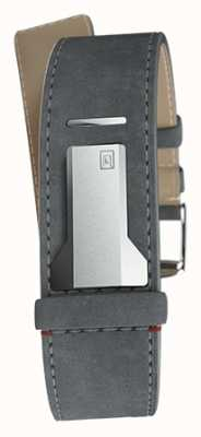 Klokers KLINK 04 Grey Mouse Straight Single Strap Only 22mm Wide KLINK-04-LC11