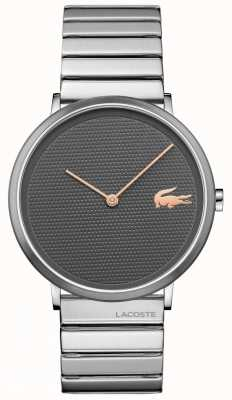 Lacoste Moon Grey Dial Stainless Steel Case & Bracelet 2010954