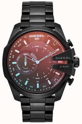 Diesel Mens Megachief Hybrid Smartwatch Iron Plated Bracelet DZT1011