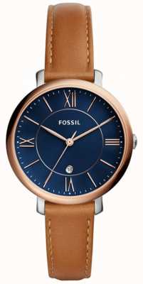 Fossil Womens Jacqueline Leather Strap ES4274