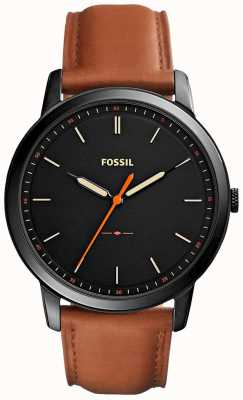 Fossil Mens The Minimalist 3H Leather Strap FS5305