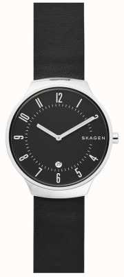 Skagen Mens Grenen Leather Strap SKW6459