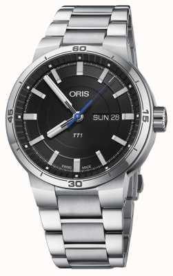 Oris Williams TT1 Day Date Stainless Steel Bracelet 01 735 7752 4154-07 8 24 08