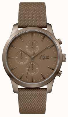 Lacoste Mens 12.12 85th Anniversary Khaki Watch 2010949