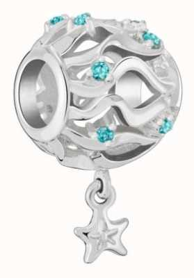 Chamilia Waves And Starfish Charm 2025-2471