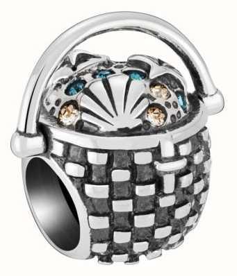 Chamilia Seashell Basket Charm 2025-2452