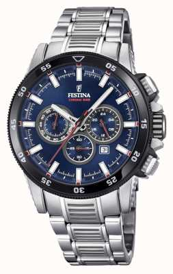 Festina 2018 Chronobike Watch Stainless Steel Bracelet F20352/3