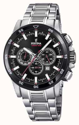 Festina 2018 Chronobike Watch Stainless Steel Bracelet F20352/6