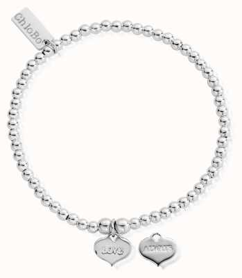 ChloBo Sterling Silver Cute Charm Love Always Bracelet SBCC204