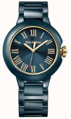 Juicy Couture Womens Black Burbank Ceramic Watch 1901653