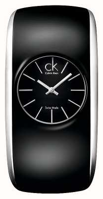 Calvin Klein Gloss Womens All Black Watch K6093101