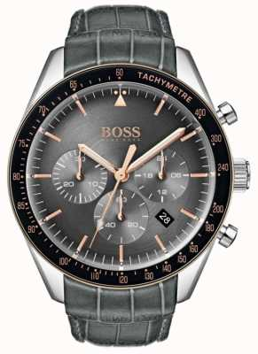 Boss Men's Trophy Grey Dial 1513628