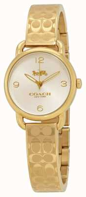 Coach Women's Gold Delancey Watch 14502892