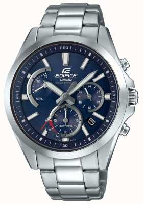 Casio Edifice Sapphire Solar Retrograde Chonograph Stainless Steel EFS-S530D-2AVUEF