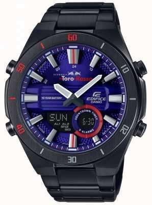 Casio Edifice Toro Rosso Black IP Plated Day Date ERA-110TR-2AER