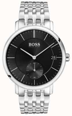 Boss Men's Corporal Stainless Steel Black Dial 1513641