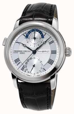 Frederique Constant Hybrid Manufacture 3.0 Automatic Smartwatch Black Strap FC-750MC4H6