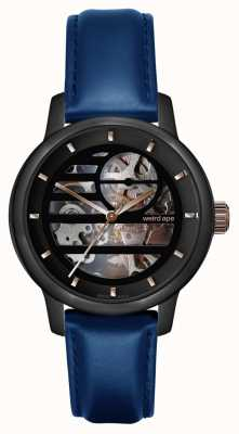 Weird Ape Rosalind Black Rose Gold/ Indiglo Blue Leather WA02-005801
