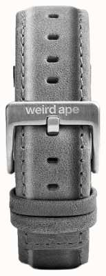 Weird Ape Slate Grey Suede 20mm Strap Silver Buckle ST01-000016
