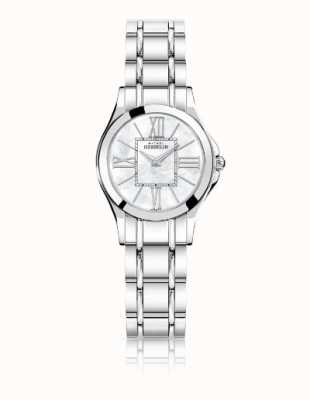 Michel Herbelin Ladies Luna Stainless Steel Mother of Pearl Dial 17487/B29