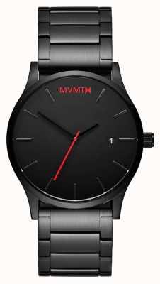 MVMT Mens Classic Black Link L213.5B.551