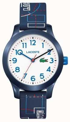 Lacoste 12.12 Kids Blue Strap White Dial 2030008