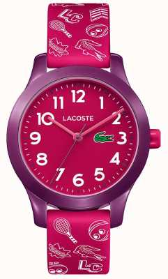 Lacoste 12.12 Kids Pink Strap Pink Dial 2030012