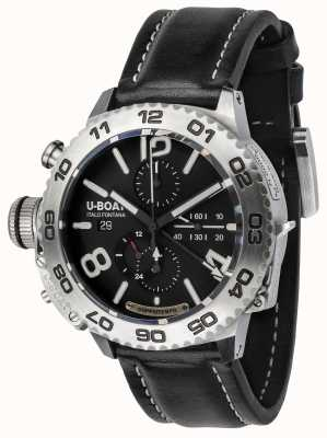 U-Boat Classico Doppiotempo 46 Chronograph Stainless Steel 9016