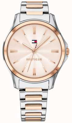 Tommy Hilfiger Women's Two Tone Rose Gold Plated Rose Gold Dial 1781952