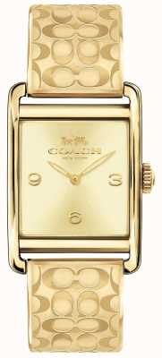 Coach Womens Renwick Watch Gold Tone 14502849
