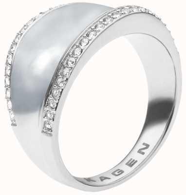 Skagen Ladies Stainless Steel Ring Medium SKJ0167040505