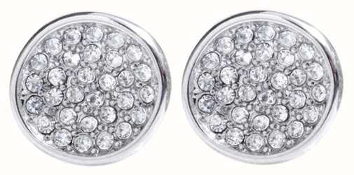 Skagen Womens Stainless Steel Seas Crystal Stud Earrings SKJ0119040