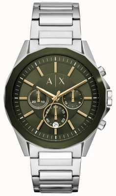 Armani Exchange Drexler Mens Chronograph Stainless Steel AX2616
