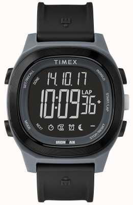 Timex Iron Man Essential Black Watch With Negative Display TW5M19000SU
