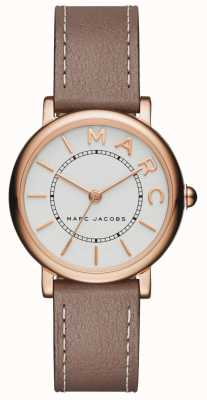 Marc Jacobs Womens Marc Jacobs Classic Watch Grey Leather MJ1538