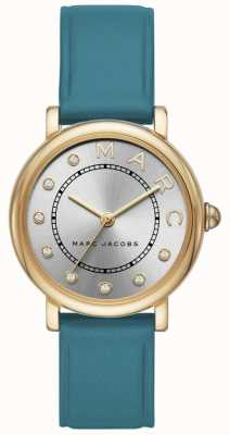 Marc Jacobs Womens Marc Jacobs Classic Watch Teal Leatherr MJ1633