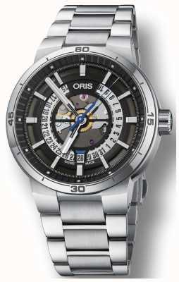 Oris Williams TT1 Engine Date Stainless Steel Bracelet Skeleton 01 733 7752 4124-07 8 24 08