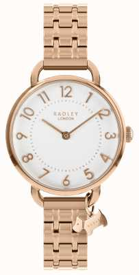 Radley Ladies Watch Rose Gold Open Shoulder Bracelet RY4344