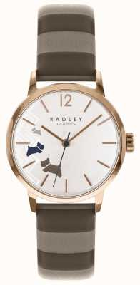 Radley Ladies Data Dog Rose Gold Satin Dial RY2674